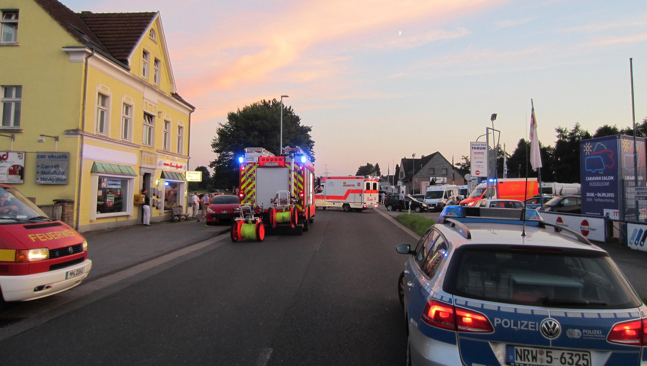 Mülheim adR Verkehrsunfall