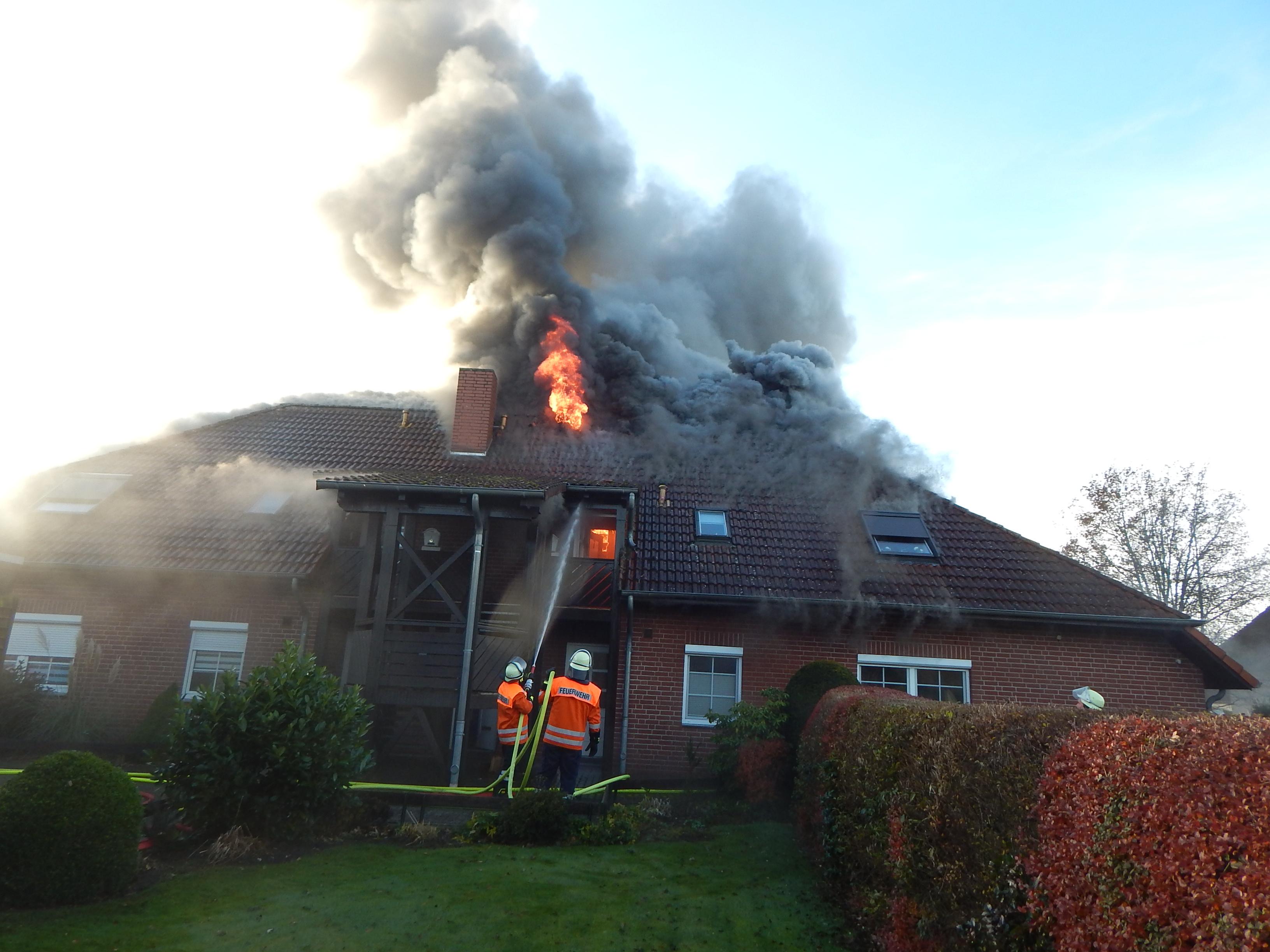 Essel Wohnhausbrand