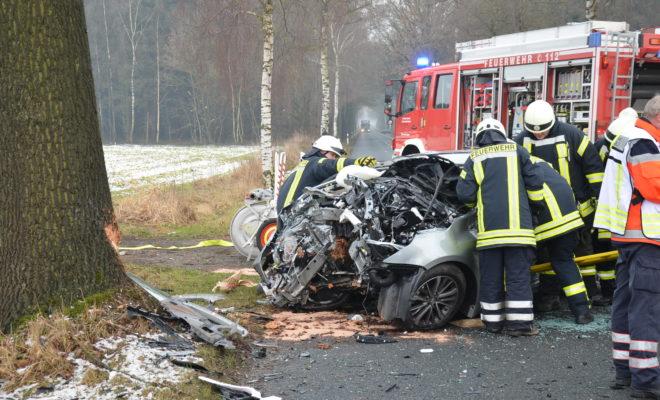 Verkehrsunfall Apensen