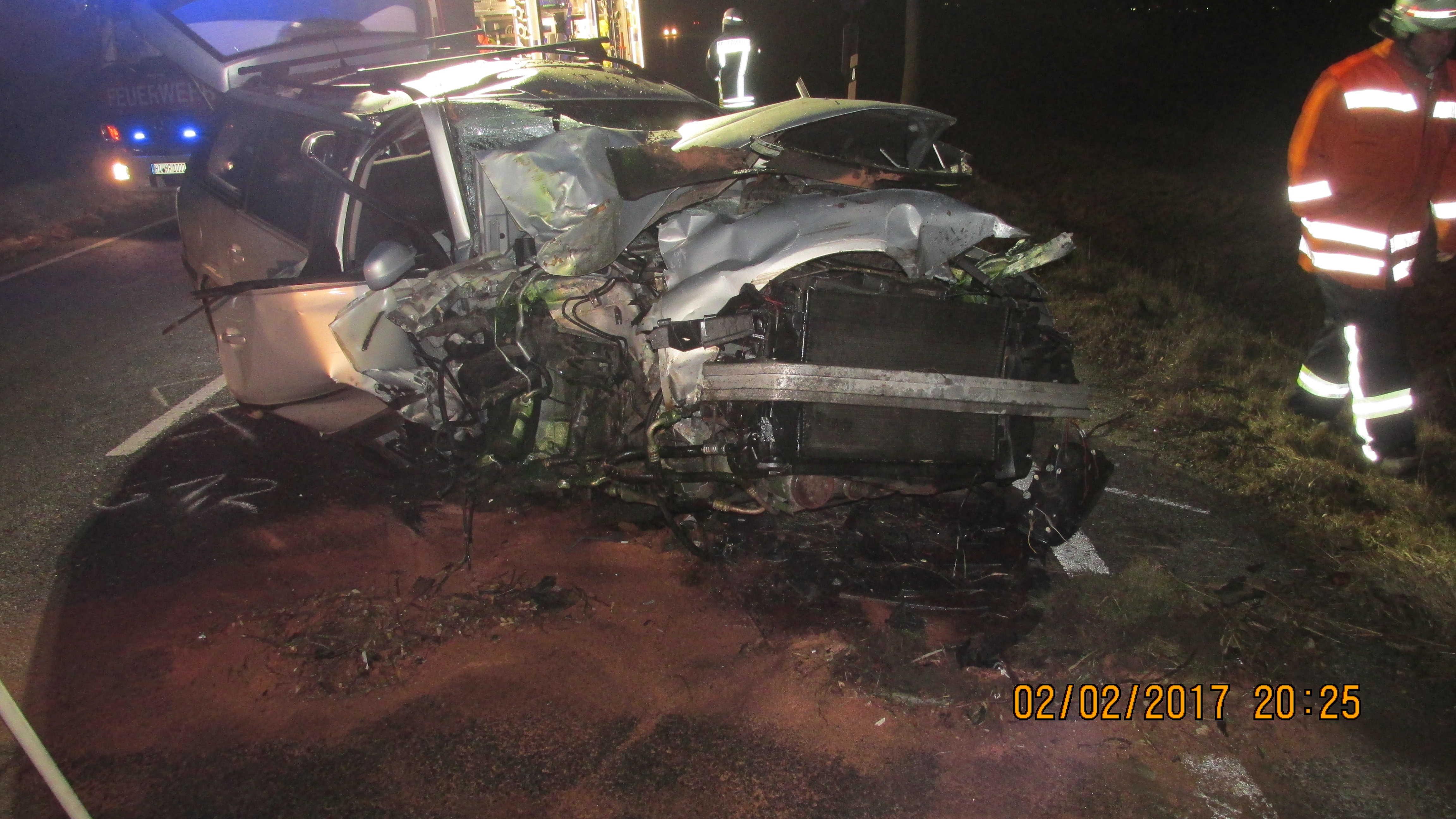Verkehrsunfall Hoheneggelsen