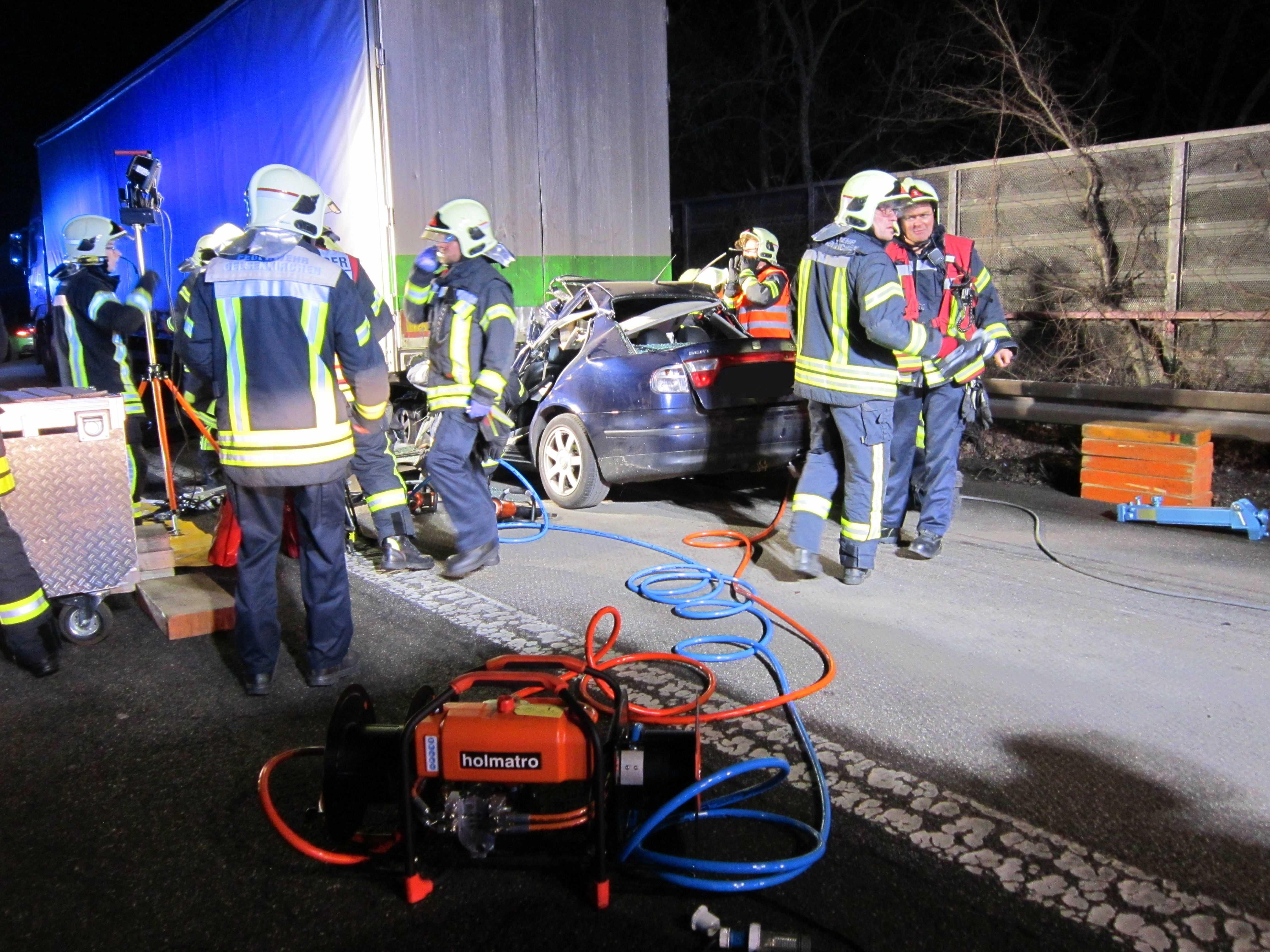 Verkehrsunfall Gelsenkirchen
