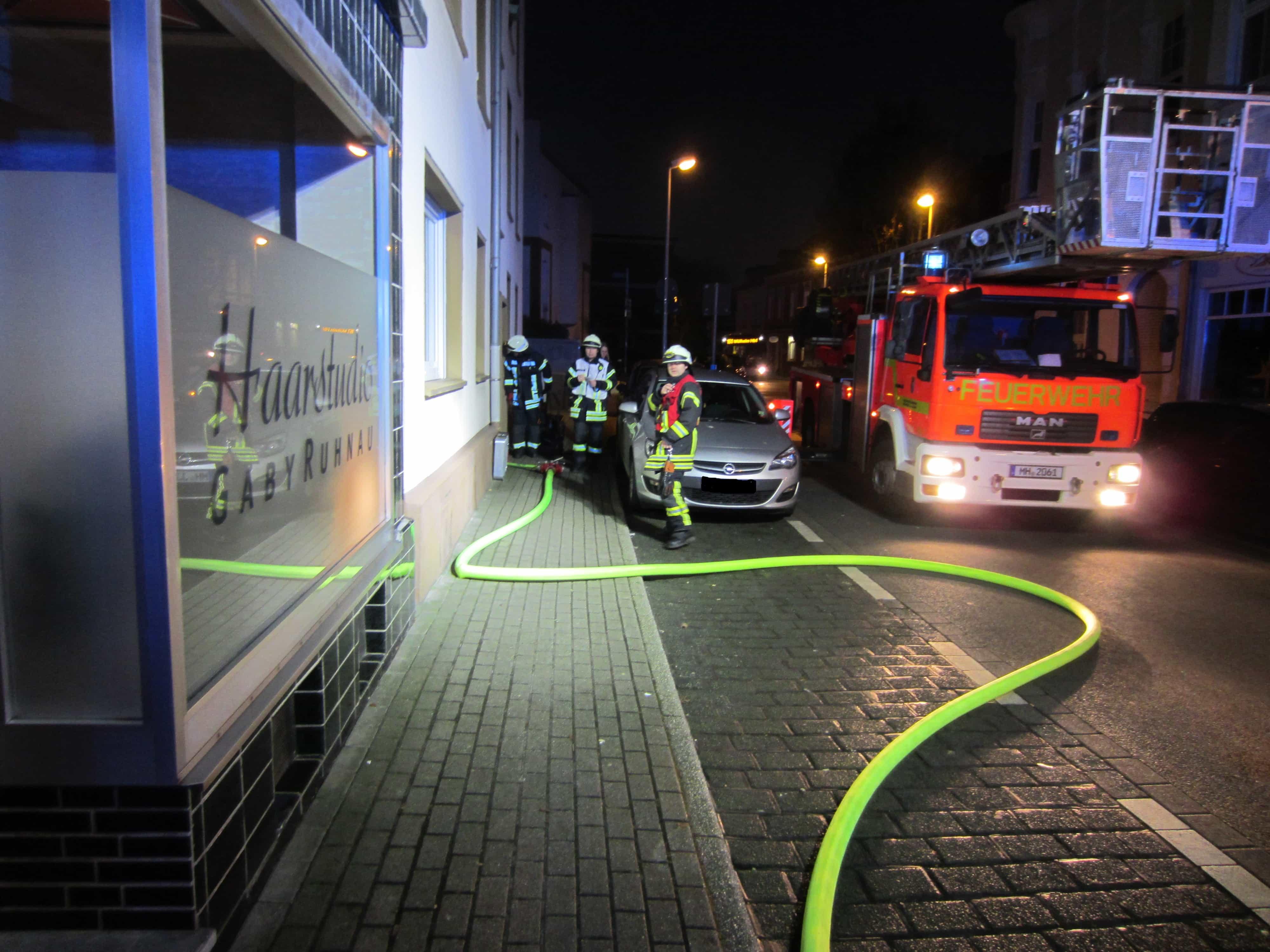Wohnungsbrand Dohne Muelheim