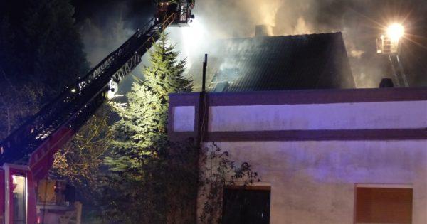 Wohnhausbrand Minden