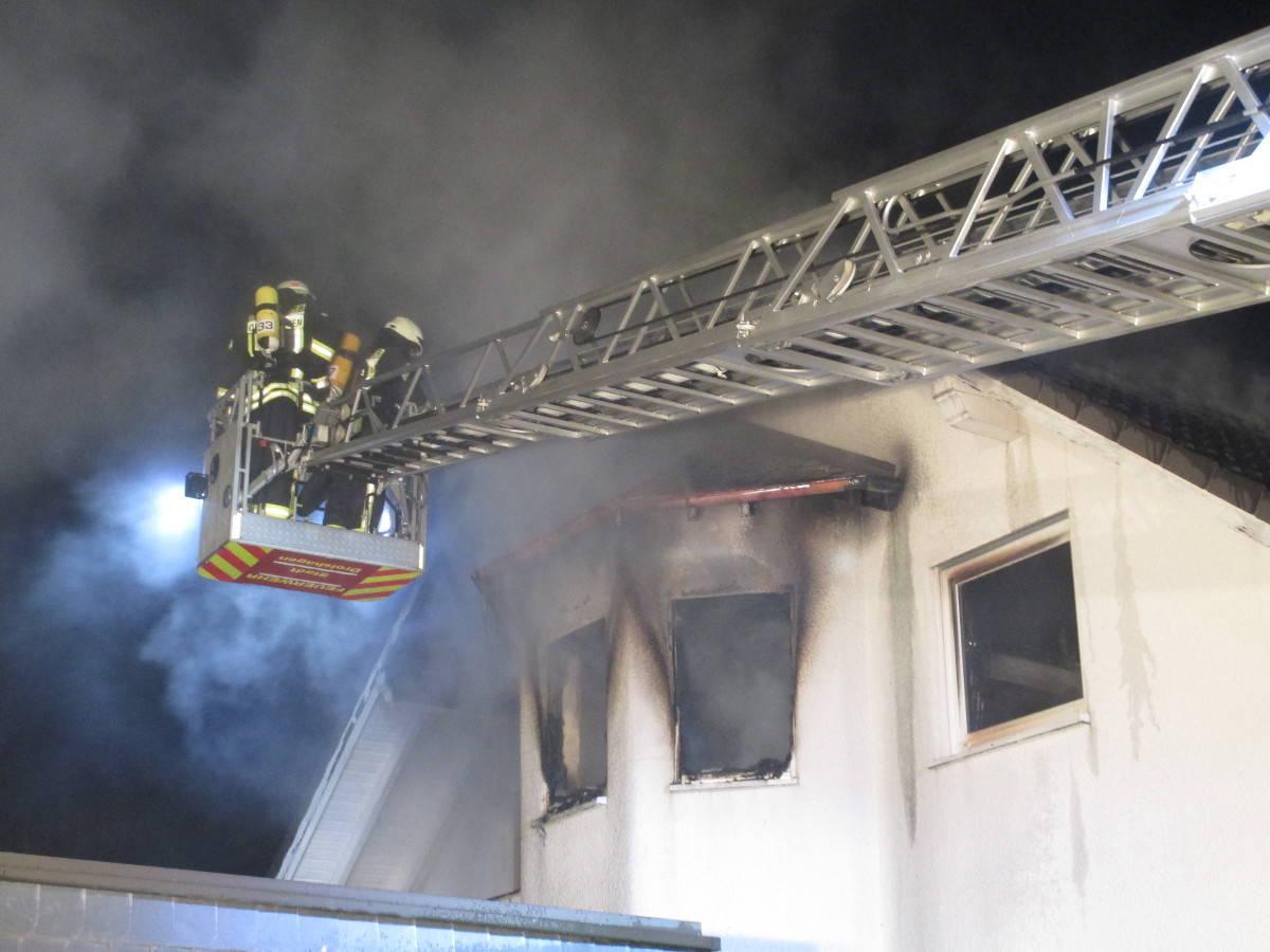 Wohnungsbrand Drolshagen