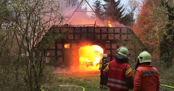 Wohnhausbrand Nienburg