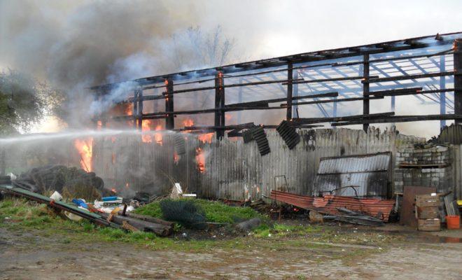 Scheunenbrand Neuenkirchen