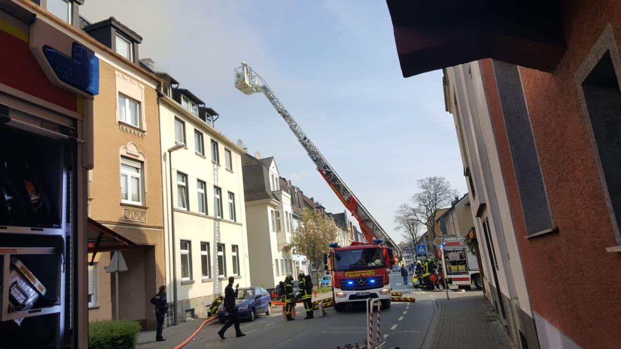 Wohnungsbrand Recklinghausen