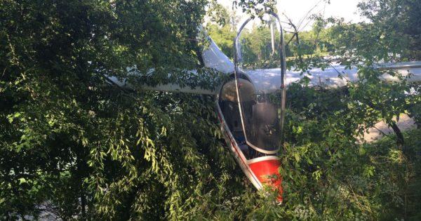 Absturz Segelflugzeug