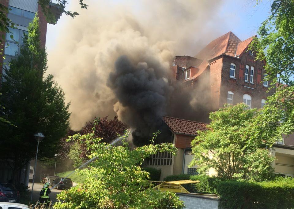 Feuer Notstromgebäude Dortmund