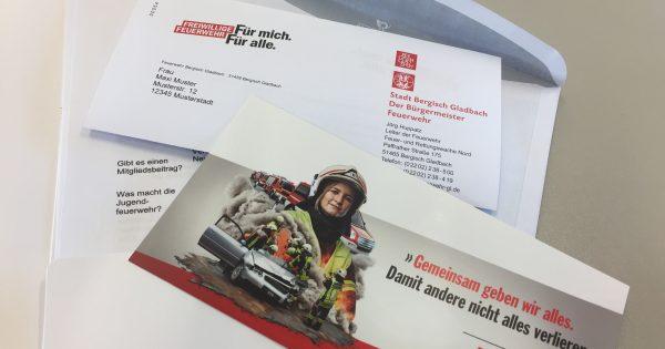Werbeschreiben Bergisch Gladbach
