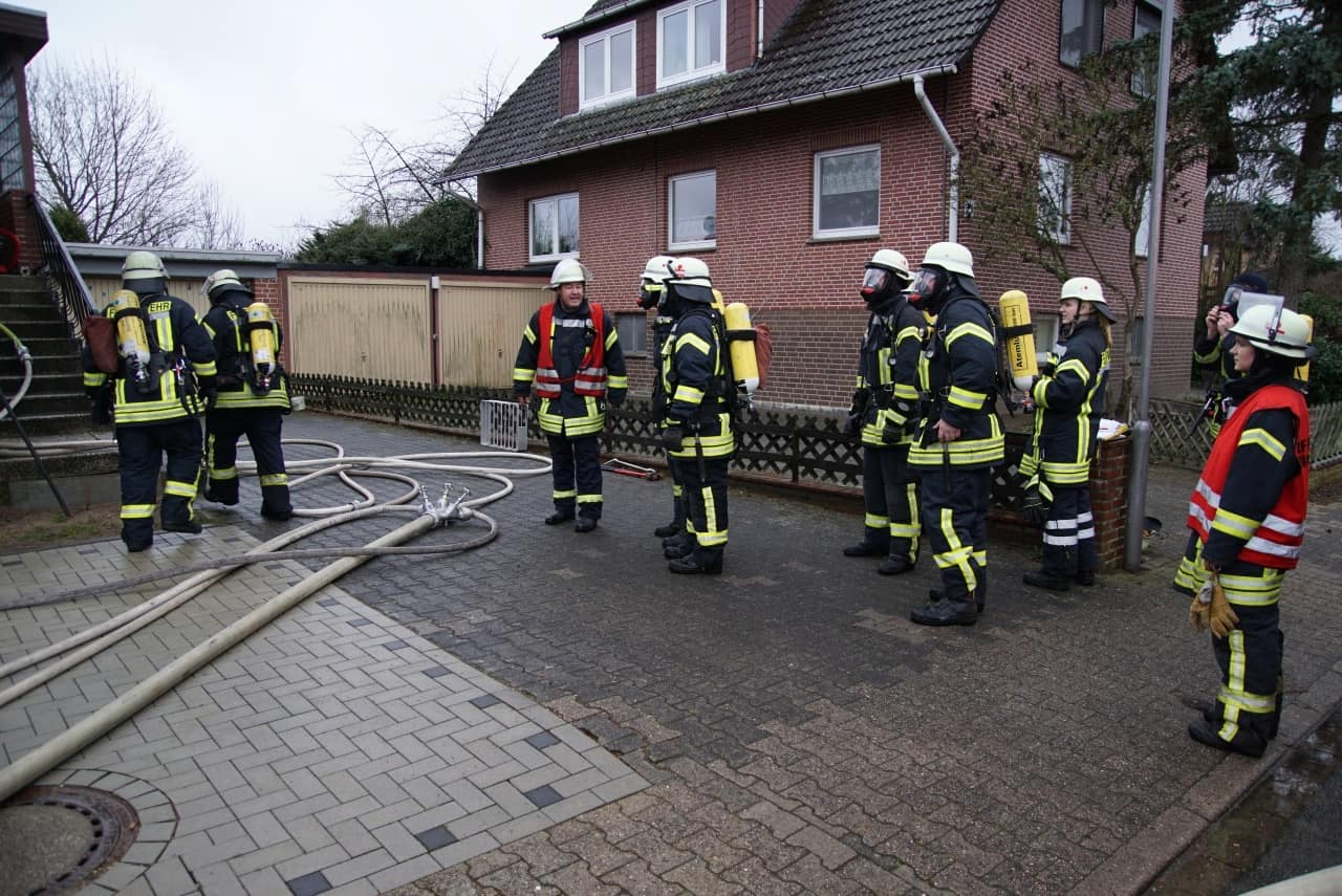 Zimmerbrand in Bleckede